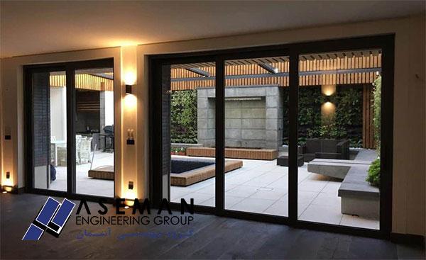 قیمت هر متر مربع پنجره ترمال بریک