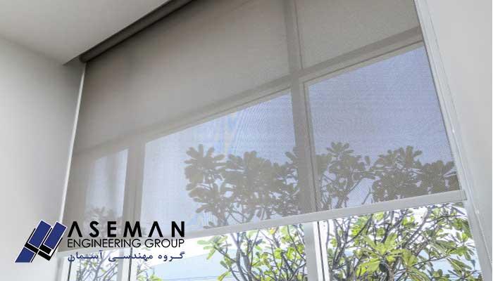 انواع پنجره آلومینیومی
