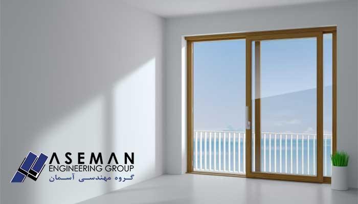 پنجره آلومینیومی نرمال